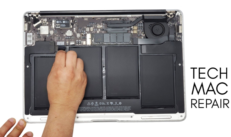 Tech mac repair battery.